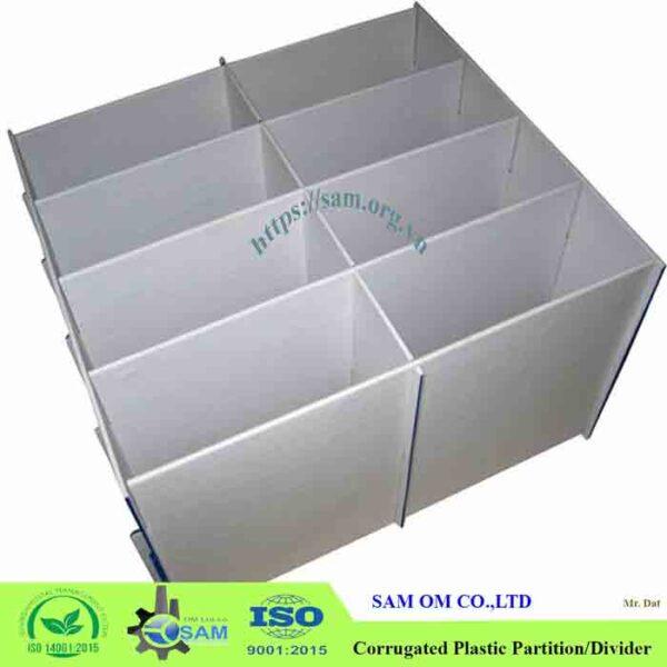 SAM corrugated plastic sheet box sign layer pad