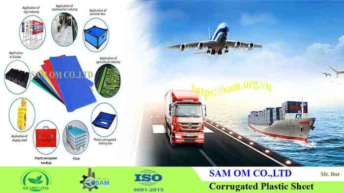 SAM corrugated plastic sheet