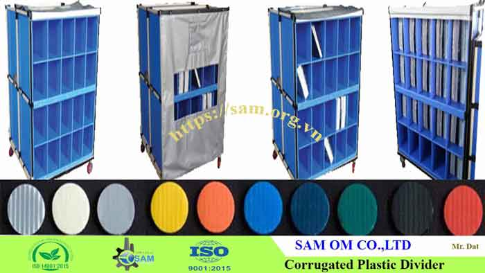 SAM corrugated plastic sheet